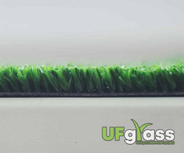 Ландшафтная искусственная трава 10 мм UF Grass (темно-зеленая) 46200 стежков\м2