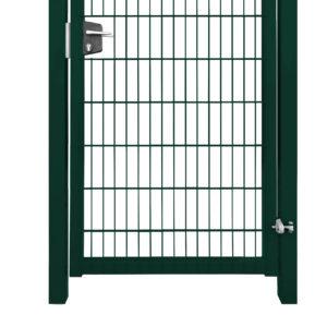 Калитка Bastion Lock 2,03х1,0 RAL 6005